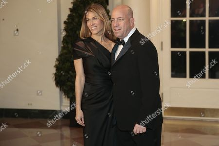 Stock Photo of Jeff Zucker, President of Cable News Network and Caryn Zucker