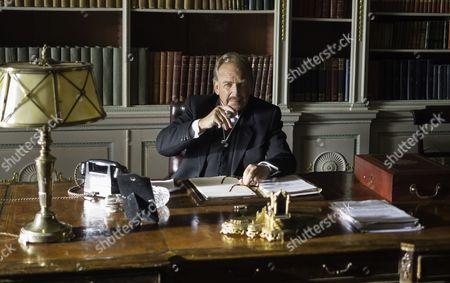Patrick Ryecart as Sir Anthony Morgan.