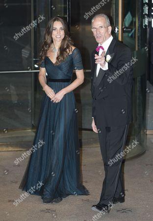 Catherine Duchess of Cambridge and Sandy Nairne