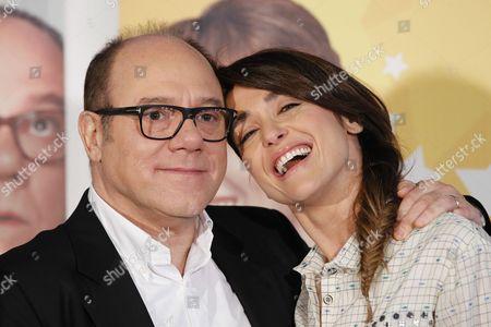 Carlo Verdone and Eleonora Sergio