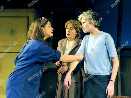 Stock Image of Rosie Holden, Paula Wilcox And Janet Dibley