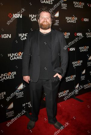 Editorial image of 'The Hungover Games' film premiere, Los Angeles, America - 11 Feb 2014