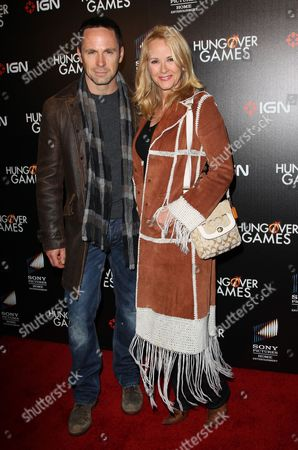 Stock Image of William deVry and Rebecca Staab