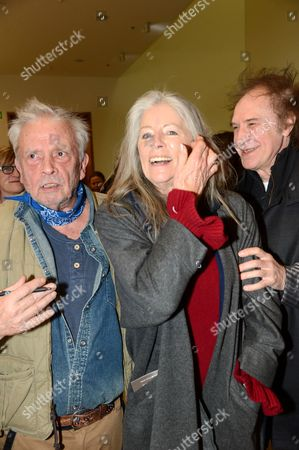 Stock Image of David Bailey, Jill Kennington and Ray Davies