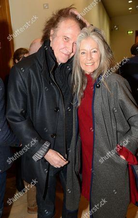 Ray Davies and Jill Kennington