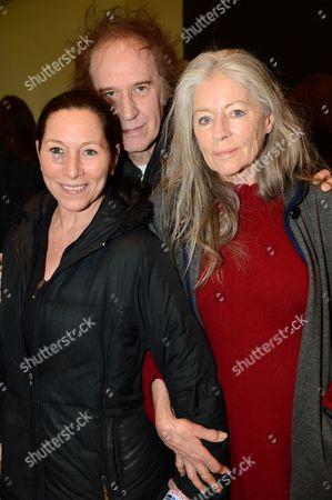 Guest, Ray Davies and Jill Kennington