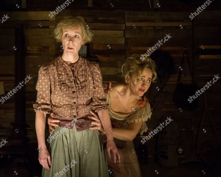 Editorial photo of 'In Skagway' Play at the Arcola Theatre, London, Britain - 10 Feb 2014