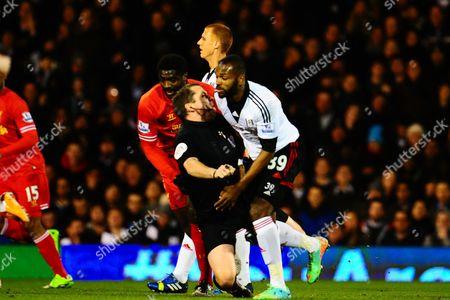 Editorial picture of Barclays Premier League 2013/14, Fulham v Liverpool, Craven Cottage, London, Britain - 12 Feb 2014