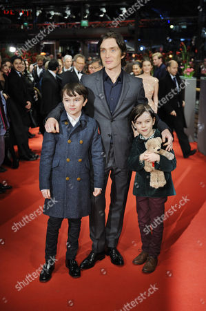 Cillian Murphy, Winta McGrath and Zen McGrath