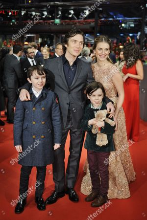 Stock Picture of Winta McGrath, Cillian Murphy, Melanie Laurent and Zen McGrath