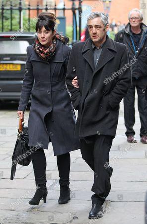 Stock Picture of Caroline Catz and Graham Hawley