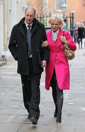 Jonathan Agnew and Emma Agnew