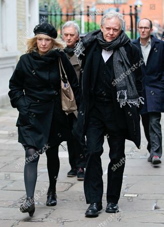 Lindsay Duncan and guest