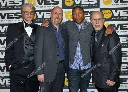 Jeffrey A. Okun. Pharrell Williams, Eric Roth