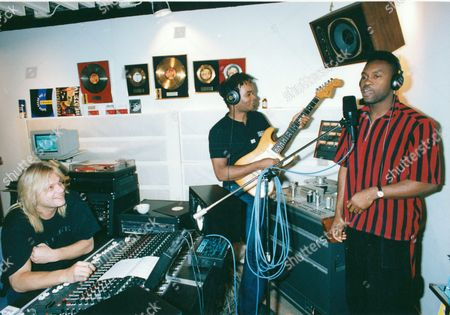 Denniz Pop with Dr Alban