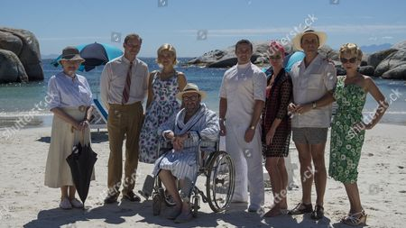 Julia McKenzie (Marple), Robert Webb (Tim Kendall), Charity Wakefield (Molly), Sir Anthony Sher (Rafiel), Warren Brown (Jackson), Hermione Norris (Evelyn Hillingdon), Alastair MacKenzie (Colonel Hillingdon) and MyAnna Buring (Lucky Dyson).