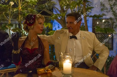 Stock Picture of MyAnna Buring as Lucky Dyson and Charles Mesure as Greg Dyson.