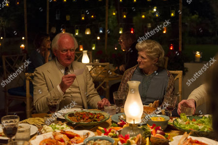 Oliver Ford Davies as Major Palgrave and Julia McKenzie as Miss Marple.