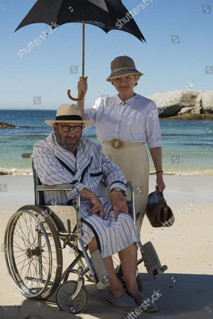 Julia McKenzie as Miss Marple with Sir Anthony Sher as Rafiel
