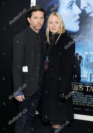 Stock Picture of John Patrick Walker and Hope Davis