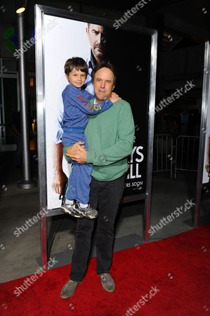 Stock Photo of Kevin Nealon and son Gable Ness