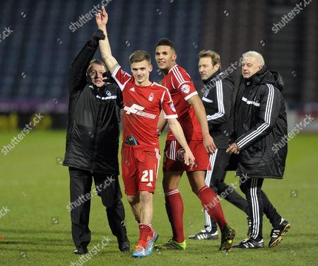 Billy Davies and Jamie Paterson