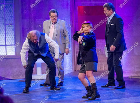 Peter Lovatt, The Krankies - Janette Tough and Ian Tough with Alan Titchmarsh