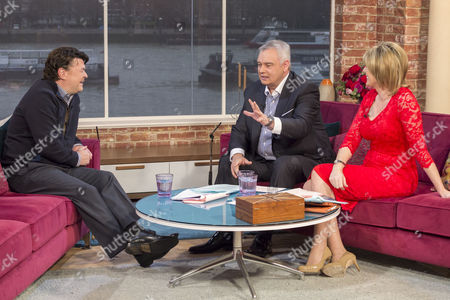 Jamie Foreman with Eamonn Holmes and Ruth Langsford