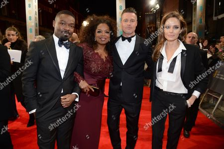Editorial image of EE British Academy Film Awards, Arrivals, Royal Opera House, London, Britain - 16 Feb 2014