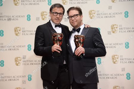 Editorial photo of EE British Academy Film Awards, Press Room, Royal Opera House, London, Britain - 16 Feb 2014
