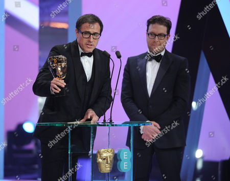 Stock Picture of David O Russell and Eric Warren Singer