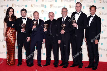 Olga Kurylenko, Christopher Benstead, Skip Lievsay, Chris Munro, Glenn Freemantle, Niv Adiri and Richard E Grant