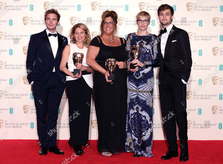 Stock Picture of Sam Claflin, Katherine Gordon, Lori McCoy-Bell, Eveylyn Noraz and Douglas Booth