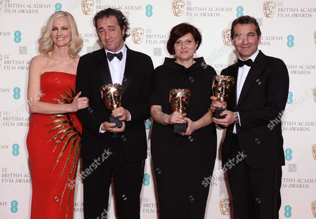 Joely Richardson, Paolo Sorrentino, Francesca Cima and Nicola Giuliano