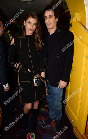 Elisa Sednaoui and Alex Dellal