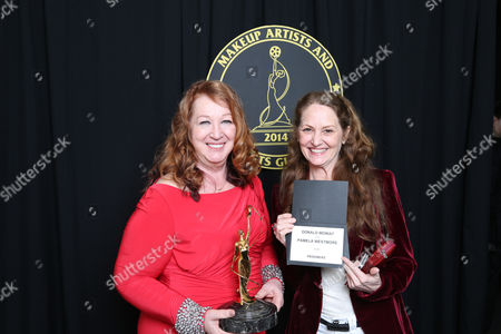 Stock Photo of Sue Cabral-Ebert and Melissa Leo