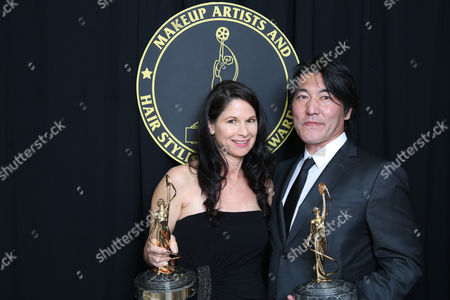 Stock Picture of Deborah Rutherford and Hiroshi Yada