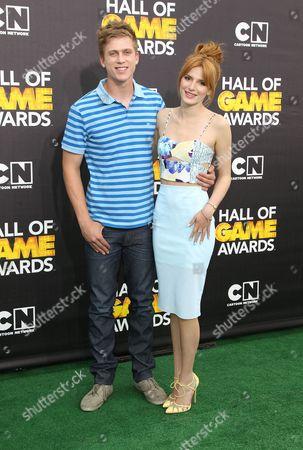 Tristan Klier and Bella Thorne