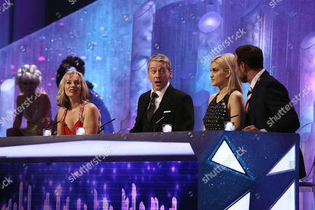 Editorial picture of 'Dancing on Ice' TV show, Elstree Studios, Hertfordshire, Britain - 16 Feb 2014
