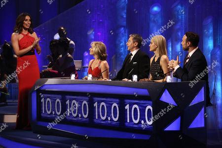 Editorial image of 'Dancing on Ice' TV show, Elstree Studios, Hertfordshire, Britain - 16 Feb 2014