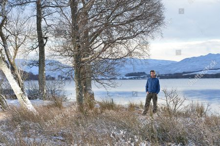 Mark Beaumont in Perthshire