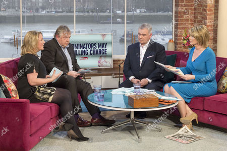 Clare Muldoon and Nick Ferrari with Eamonn Holmes and Ruth Langsford.