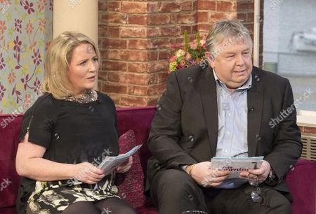 Clare Muldoon and Nick Ferrari