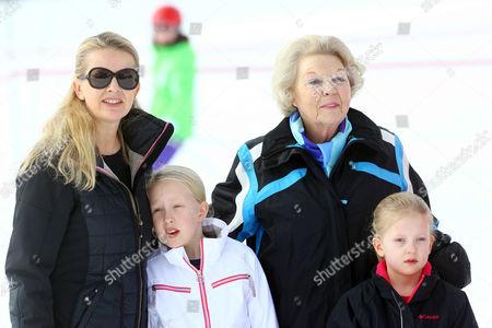 Princess Mabel, daughters Countess Luana and Countess Zaria, and Princess Beatrix
