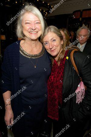 Kate Adie and Rosie Boycott