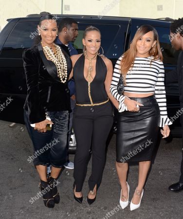 Jackie Christie, Sundy Carter and Chantelle Christie