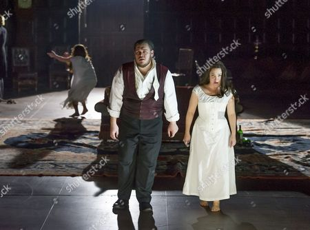 Editorial image of 'Rigoletto' performed by The English National Opera at the London Coliseum, London, Britain - 11 Feb 2014