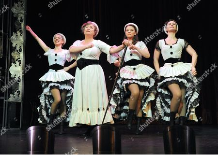 Editorial photo of 'Oh What a Lovely War' musical at the Theatre Royal, Stratford, London, Britain - 10 Feb 2014