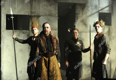 Stock Picture of 'King Priam' - Roderick Earle as Priam