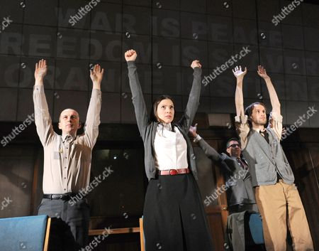 '1984' performed by Headlong - Christopher Patrick Nolan as Martin, Hara Yannas as Julia and Mark Arends as Winston